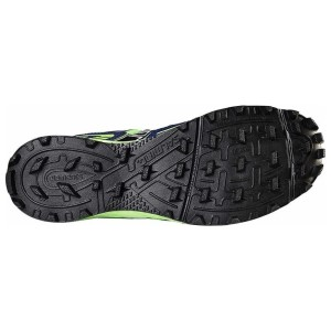 Salming Elements - Mens Trail Running Shoes - Gecko Green/Navy
