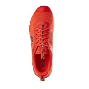 Salming EnRoute 3 - Mens Running Shoes - New Orange/Moroccan Blue