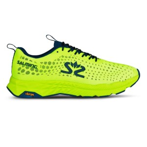Salming Greyhound - Mens Running Shoes - Yellow